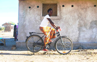 Bike business women Africa