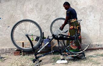 Bike repair training