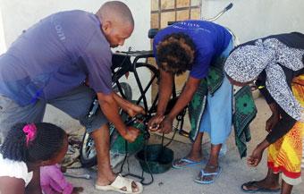 Bikes training women empowerment