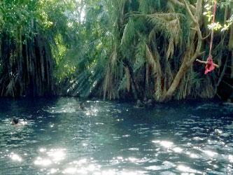 Hotsprings Tanzania natural pool