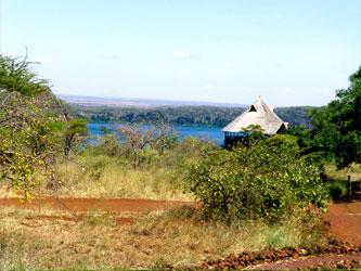 Lodge au lac Chala