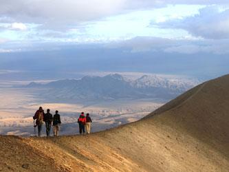 Mont Meru grimpeur