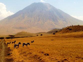 Ol Doinyo Lengai Volcano Tanzania