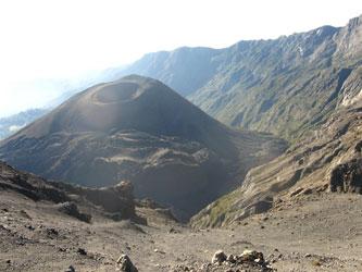Cratère du Mont Meru