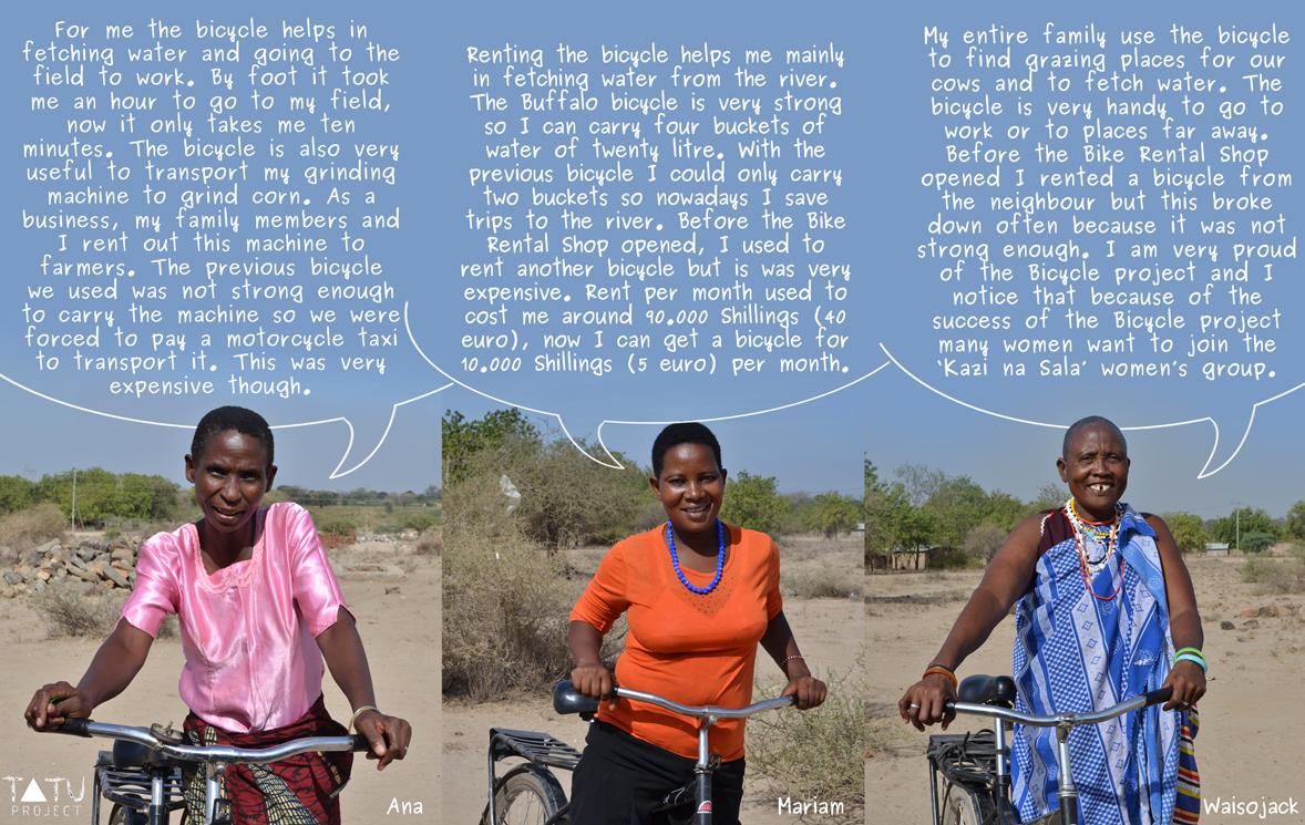 Bikes testimonials