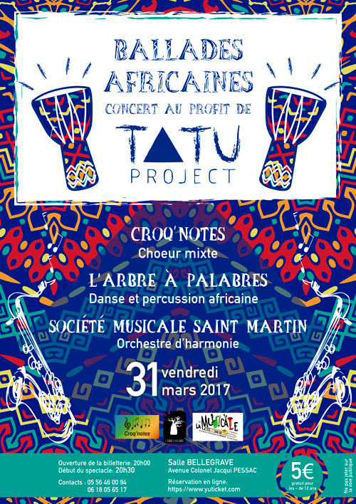 Concert in France for TATU Project