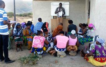 Entrepreneur training women empowerment