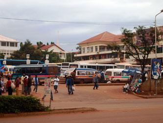 Estación de bus de Moshi