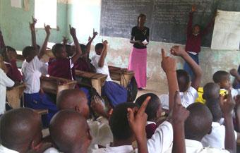 Seminario de salud femenina en la escuela