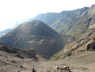 Tanzania crater en monte Meru