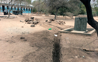 Water well in schools of Tanzania