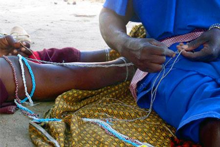 Developpement du business de bijoux Maasai