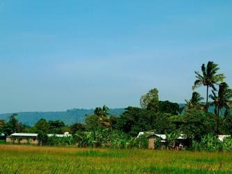 Village Mto wa Mbu, lac Manyara